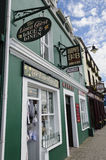 Pubs and shops in Ireland stock photography