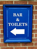 pubu znak Obrazy Royalty Free