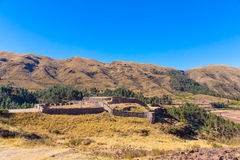 Puca Pucara, Ancient Inca fortress, Peru. South America Royalty Free Stock Images