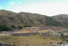 Puca Pucara, Inca fördärvar - Cuzco, Peru fotografering för bildbyråer