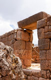Puca Pucara Military Ruins at Cusco, Peru Stock Photography