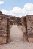 Puca Pucara Military Ruins at Cusco, Peru Royalty Free Stock Images