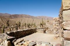 Pucara de Tilcara Ruins - Jujuy - Αργεντινή Στοκ φωτογραφίες με δικαίωμα ελεύθερης χρήσης