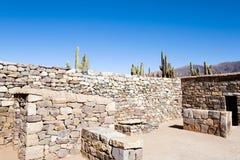 Pucara de Tilcara Ruins - Jujuy - Αργεντινή Στοκ φωτογραφία με δικαίωμα ελεύθερης χρήσης