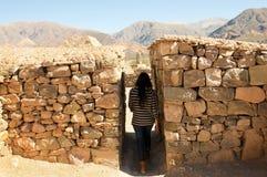 Pucara de Tilcara Ruins - Jujuy - Αργεντινή Στοκ Φωτογραφία