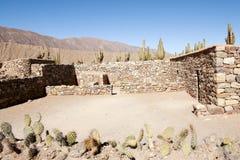 Pucara de Tilcara Ruins - Jujuy - Αργεντινή Στοκ Εικόνες
