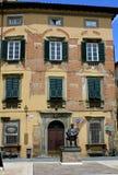 Puccini tillstånd, Lucca, Italien arkivfoto