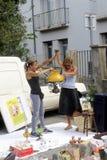 Puce Anduze Photographie stock libre de droits