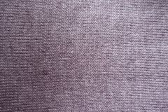Puce basic weft knit fabric. From above Stock Image
