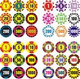 Puce de casino illustration libre de droits