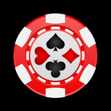 puce de casino Photo libre de droits