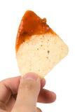 Puce de tortilla photo stock