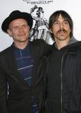 Puce et Anthony Kiedis images stock