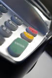 Puce et machine de Pin Photos libres de droits