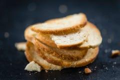 Puces cuites au four fraîches de pain Images libres de droits