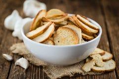 Puces cuites au four fraîches de pain Photos libres de droits