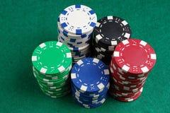 Puces de casino Image libre de droits