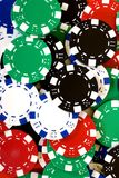 puces de casino Photo stock