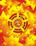 Puces de casino de vecteur illustration libre de droits