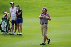 Puces de Christina Kim pour LPGA vert Malaisie Images stock