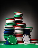 Jetons de poker Photographie stock