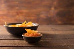 Puces de tortilla photographie stock