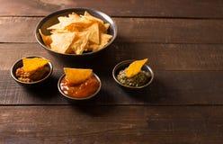 Puces de tortilla image libre de droits