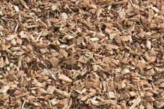Puces en bois pour l'énergie verte aux Pays-Bas photographie stock