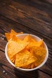 Puces mexicaines de nacho images libres de droits