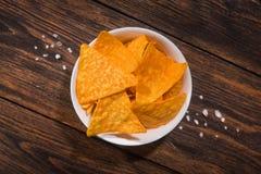 Puces mexicaines de nacho image libre de droits