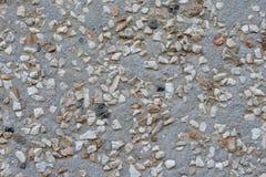 Puces rugueuses dispersées de la texture en pierre de fond photos libres de droits