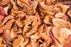 Puces sèches de pomme Photos stock