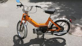 Puch Maxi 1969. My old moped, puch maxi. Very retro and old Stock Photo