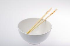 pucharów chopsticks Zdjęcia Royalty Free