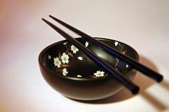 pucharów chopsticks Obraz Stock