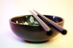 pucharów chopsticks Fotografia Stock