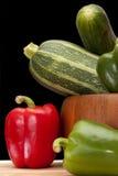 pucharów warzywa Fotografia Royalty Free