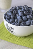 Puchar bluberries Fotografia Royalty Free