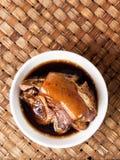Puchar chińczyk braised wieprzowina zdjęcia royalty free