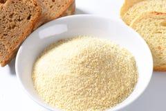 Puchar chlebowe kruszki zdjęcia stock