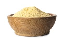 Puchar kukurydzana mąka zdjęcie royalty free