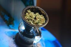 puchar marihuana fotografia stock