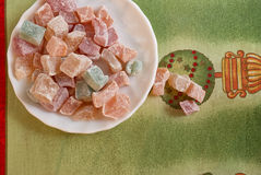 Puchar marshmallows Zdjęcie Royalty Free
