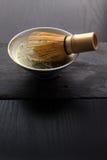 Puchar matcha herbata Zdjęcie Stock
