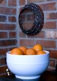 puchar pomarańcze Fotografia Royalty Free