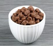 puchar szczerbi się czekoladę Zdjęcia Royalty Free