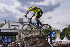 Puchar Świata w Próbnych bicyklach Obrazy Royalty Free
