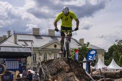 Puchar Świata w Próbnych bicyklach Fotografia Stock
