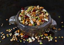 Puchar z legumes, zbliżenie Obraz Royalty Free