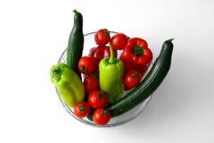 Puchar z warzywami Zdjęcie Stock
